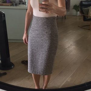 Classic Nordstrom's Wool Pencil Skirt
